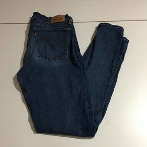 Levi's 710 Super Skinny Womens Jeans Size 29x30